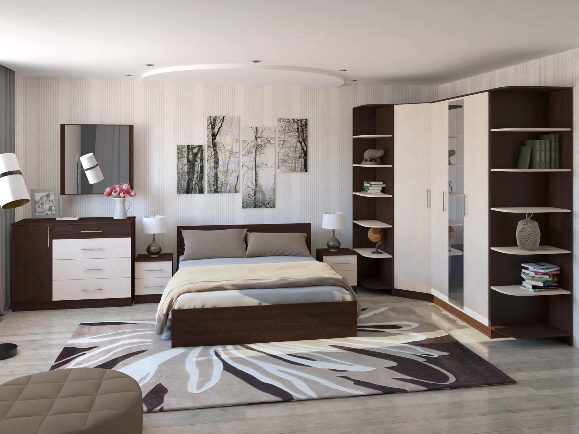 Натяжной потолок с рисунком в спальню фото крайней мере